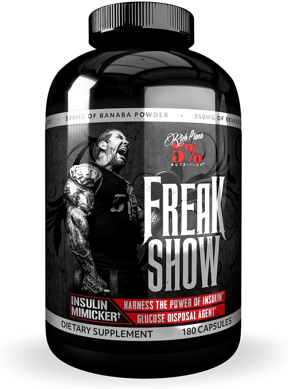 5% Nutrition- Rich Piana Freak Show (180) 180 g
