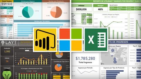 Curso de Excel y PowerBI en Udemy