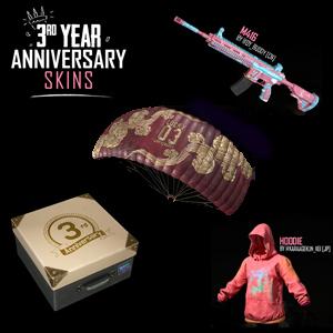 PUBG :: Gratis caja + Skins Parachute, Sudadera, Arma (PC,PS4,XBOX)