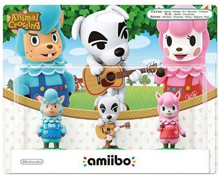 Pack 3 amiibos Animal Crossing