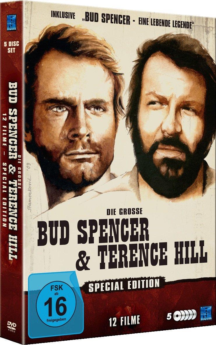 5 discos bud Spencer & Terence hill Edición especial DVD alemán