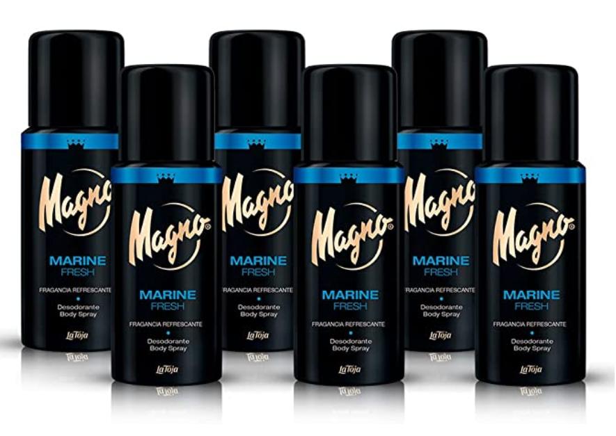 Magno - Desodorante Marine Fresh - 150ml (pack de 6) = 900ml