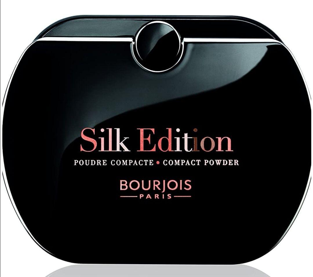 Bourjois Paris Silk Edition Compact Poudre, 56 Bronce . PRECIO MÍNIMO HISTÓRICO.