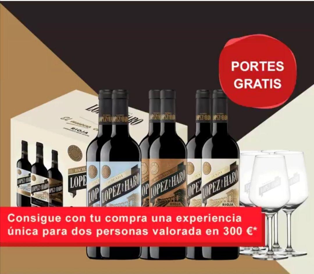Bodeboca | 25% de descuento, portes gratis, 6 copas de regalo y 10€ de regalo