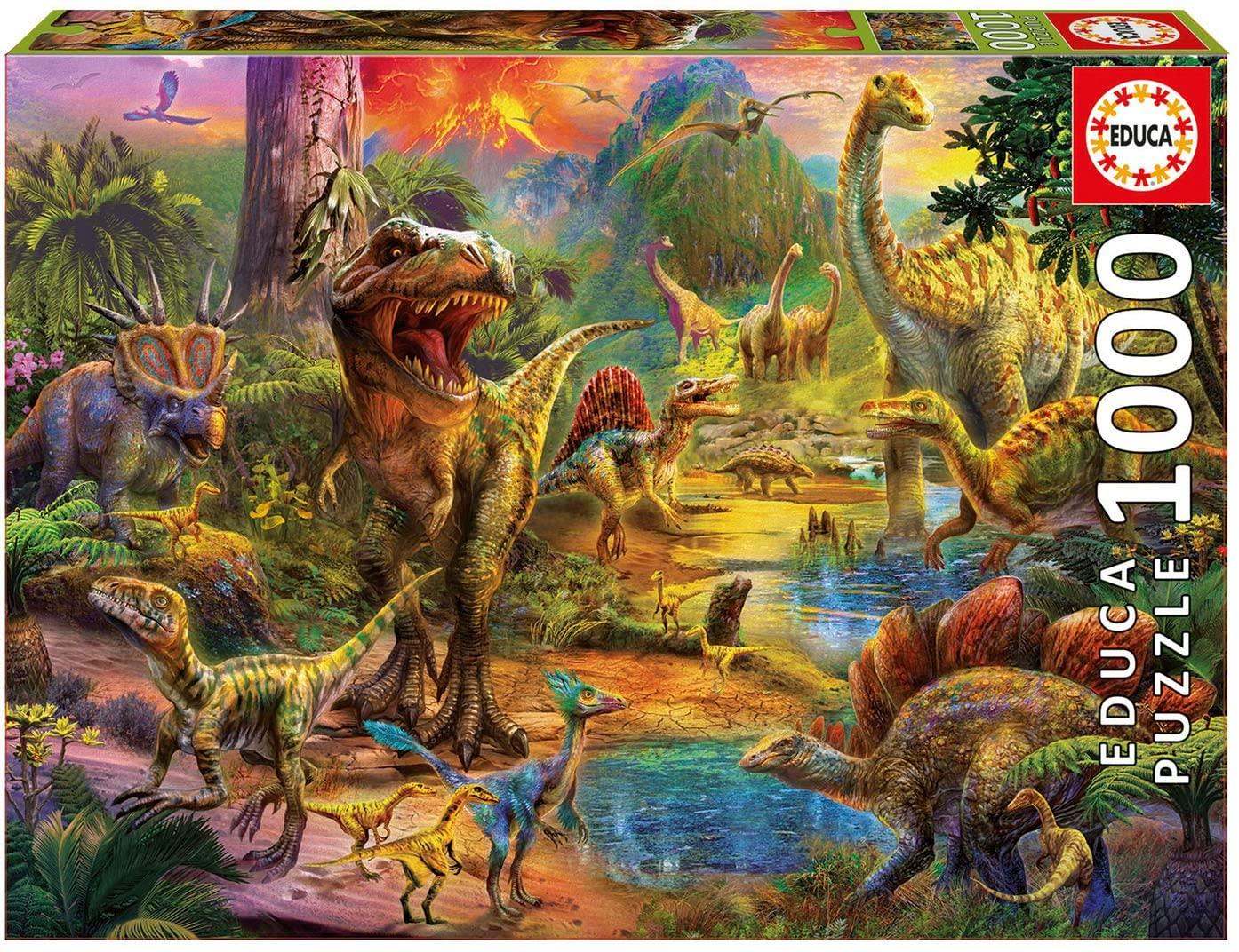 Dinosaurios de educa 1000 piezas puzzle