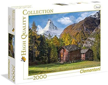 2000 piezas marca Clementoni colección mathernhorn