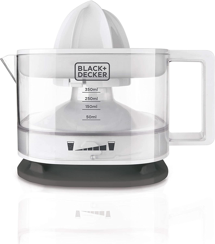 Black+Decker BXCJ25E Exprimidor de cocina 25 W, 350 ml