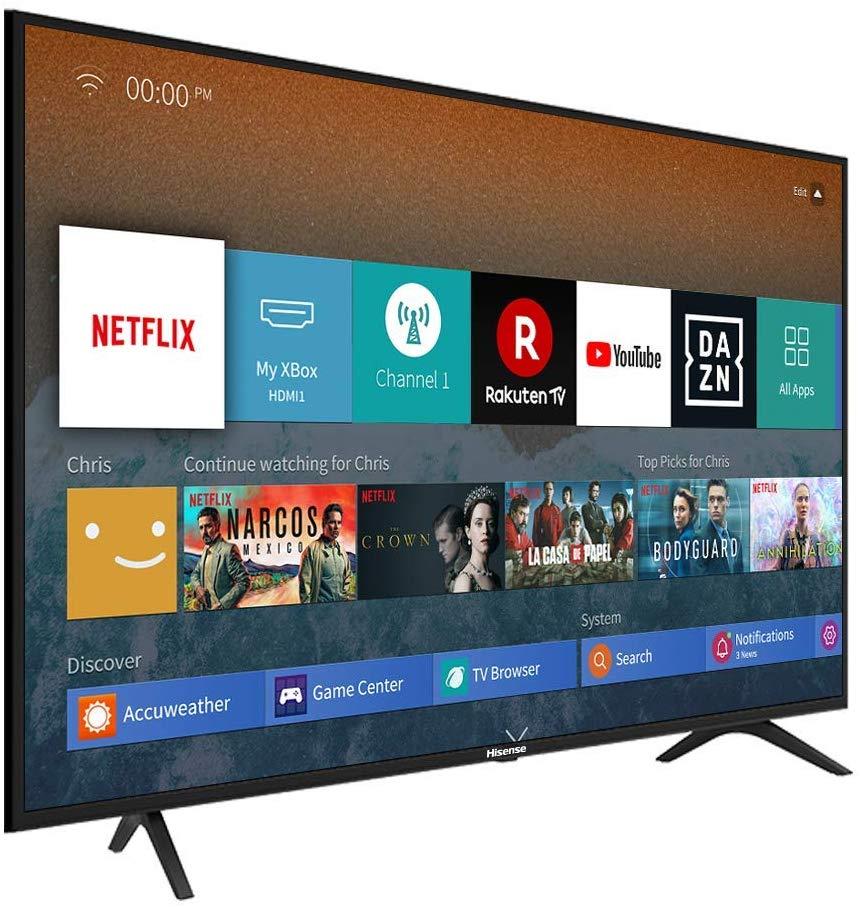 "TV Hisense 55"" Alexa integrada solo 349€"