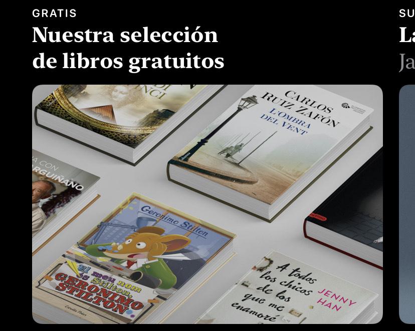 Selección de libros GRATIS en Books