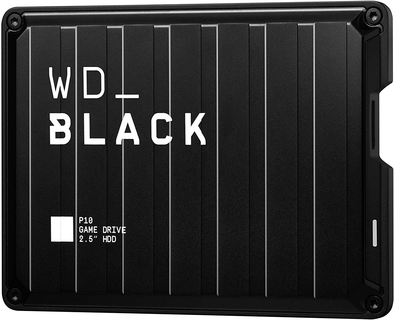 Ofertas en discos duros externos WD Black P10 para consolas [Todas las capacidades]
