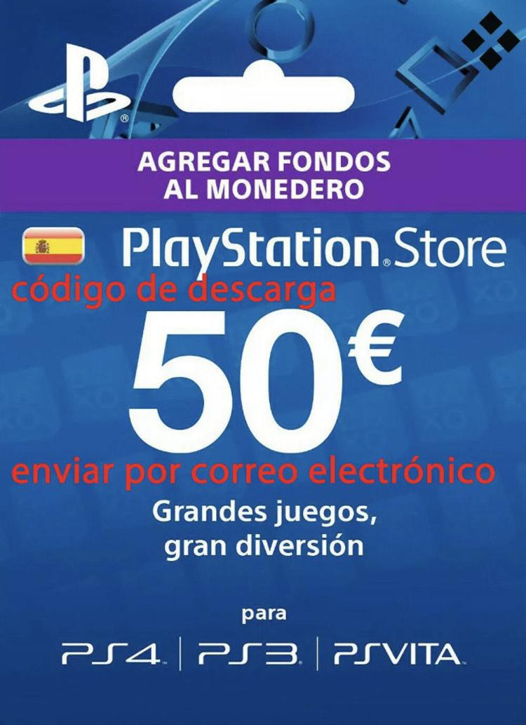 Tarjeta PSN 50€ por solo 38€