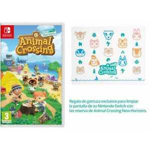 Animal Crossing New Horizons Switch en físico