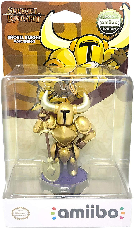 Shovel Knight Gold Amiibo, Dorado. Compatible con Switch, Wii U y Nintendo 3DS y 2DS.