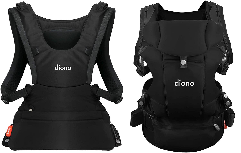 Diono Carus Essentials 3 en 1 - Mochila porta bebes