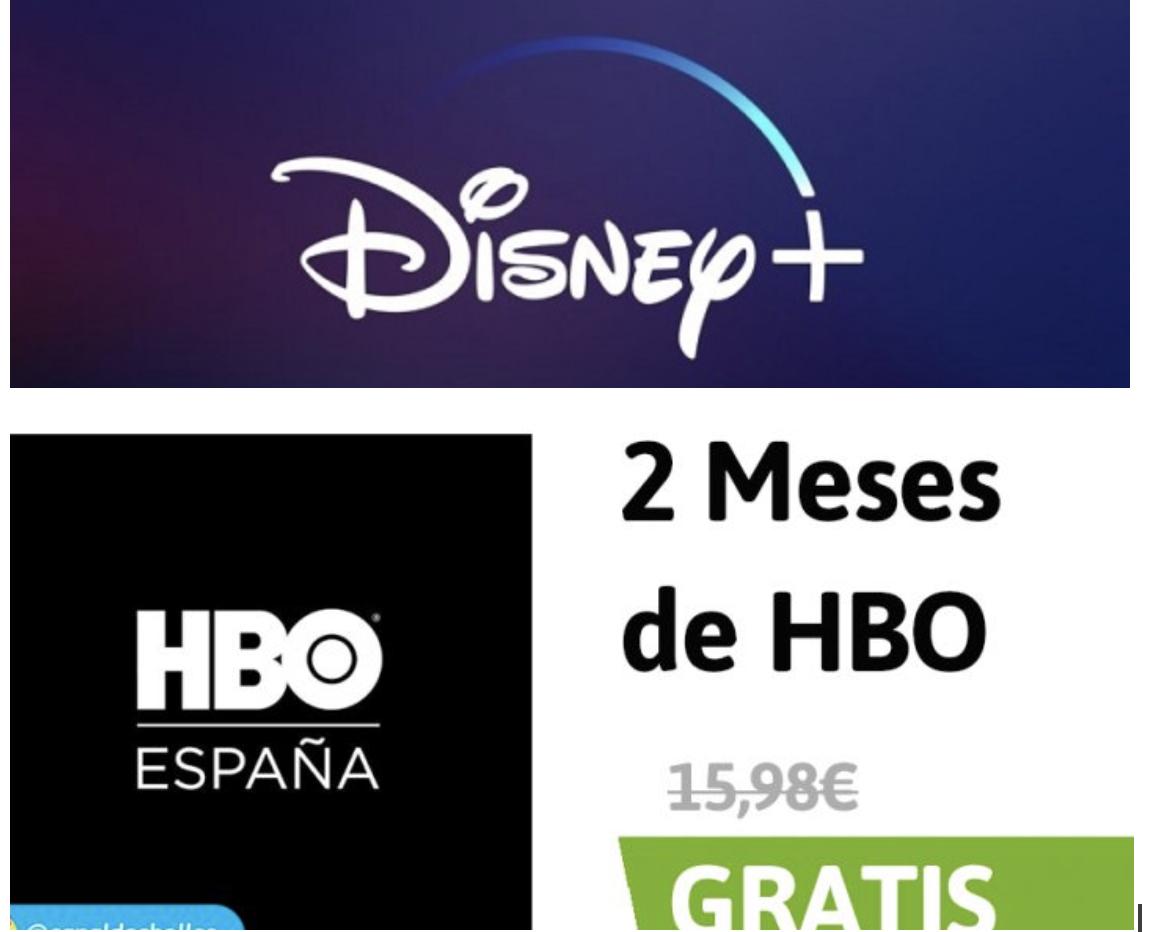 800 puntos DISNEY PLUS + por solo 10 pts HBO GRATIS al pagar con travel club