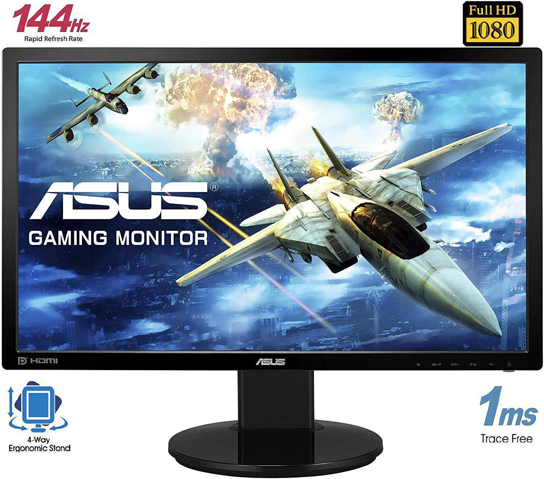 "Monitor Asus VG248QE 24"" LED 3D 144Hz 1ms"