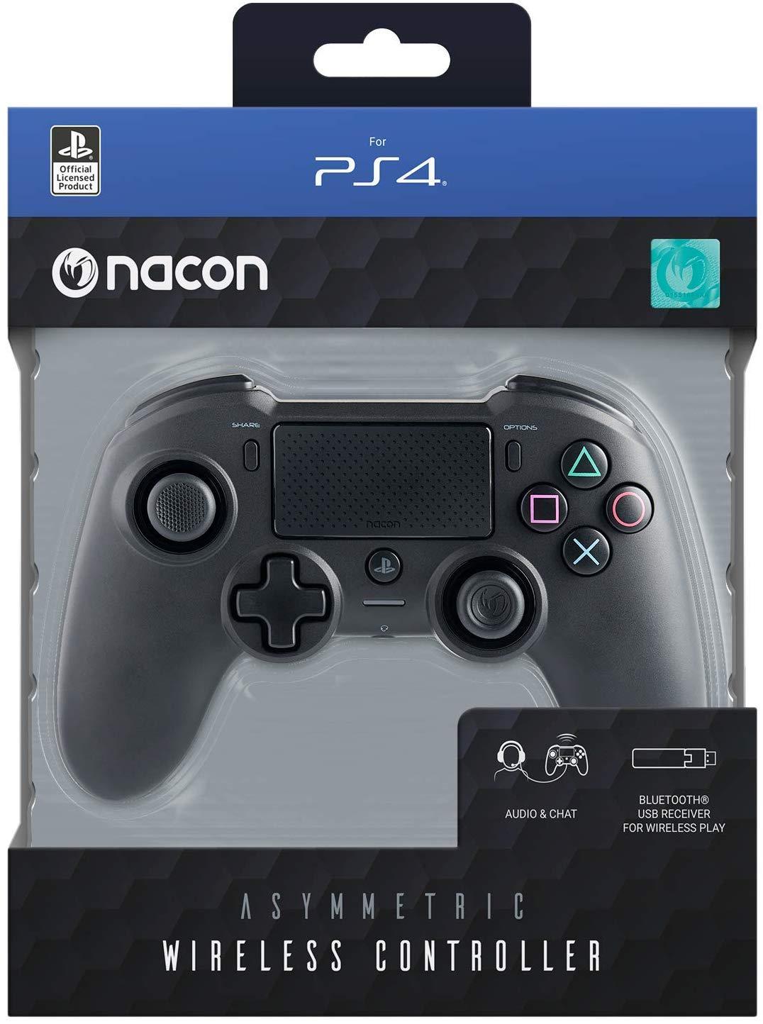 Mando PS4 Nacon Inalámbrico Asimétrico