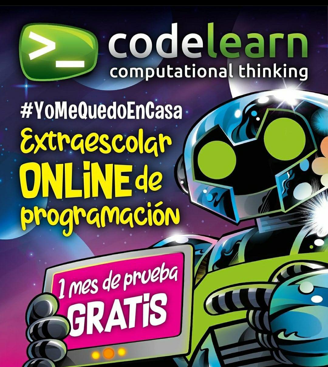 codelearn - 1 mes de prueba gratis - Programación para niñ@s