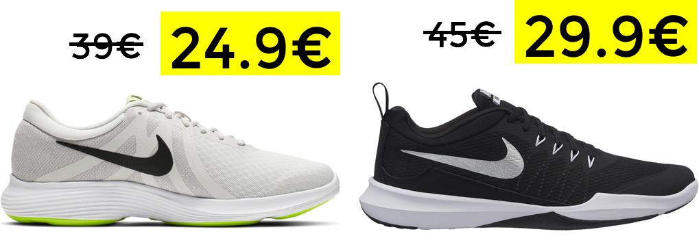 Preciazos en selección zapatillas Nike