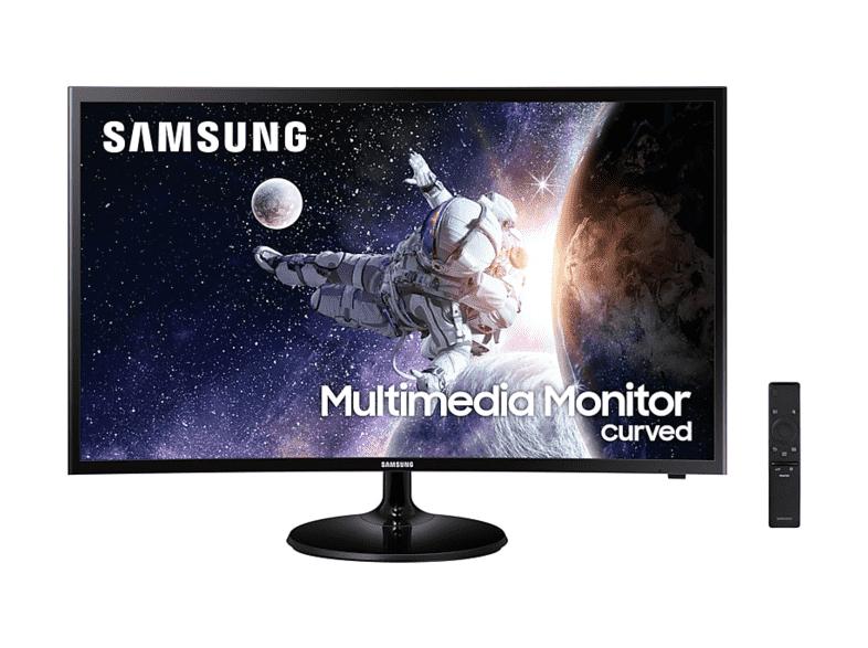 "Monitor - Samsung C32F39MFUU, 32 "", Curvo, 60 Hz, Full HD, 4ms, Negro"