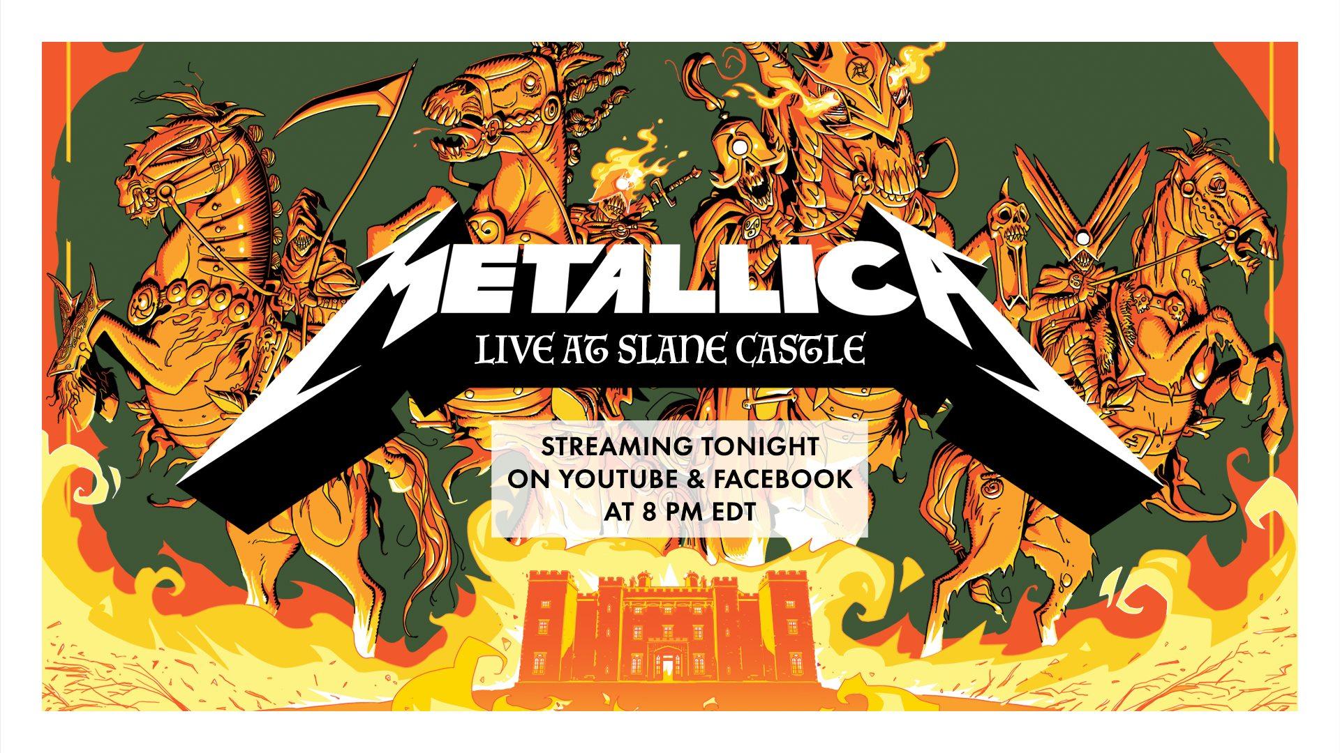 Conciertos de Metallica GRATIS todos los martes a las 1 A.M