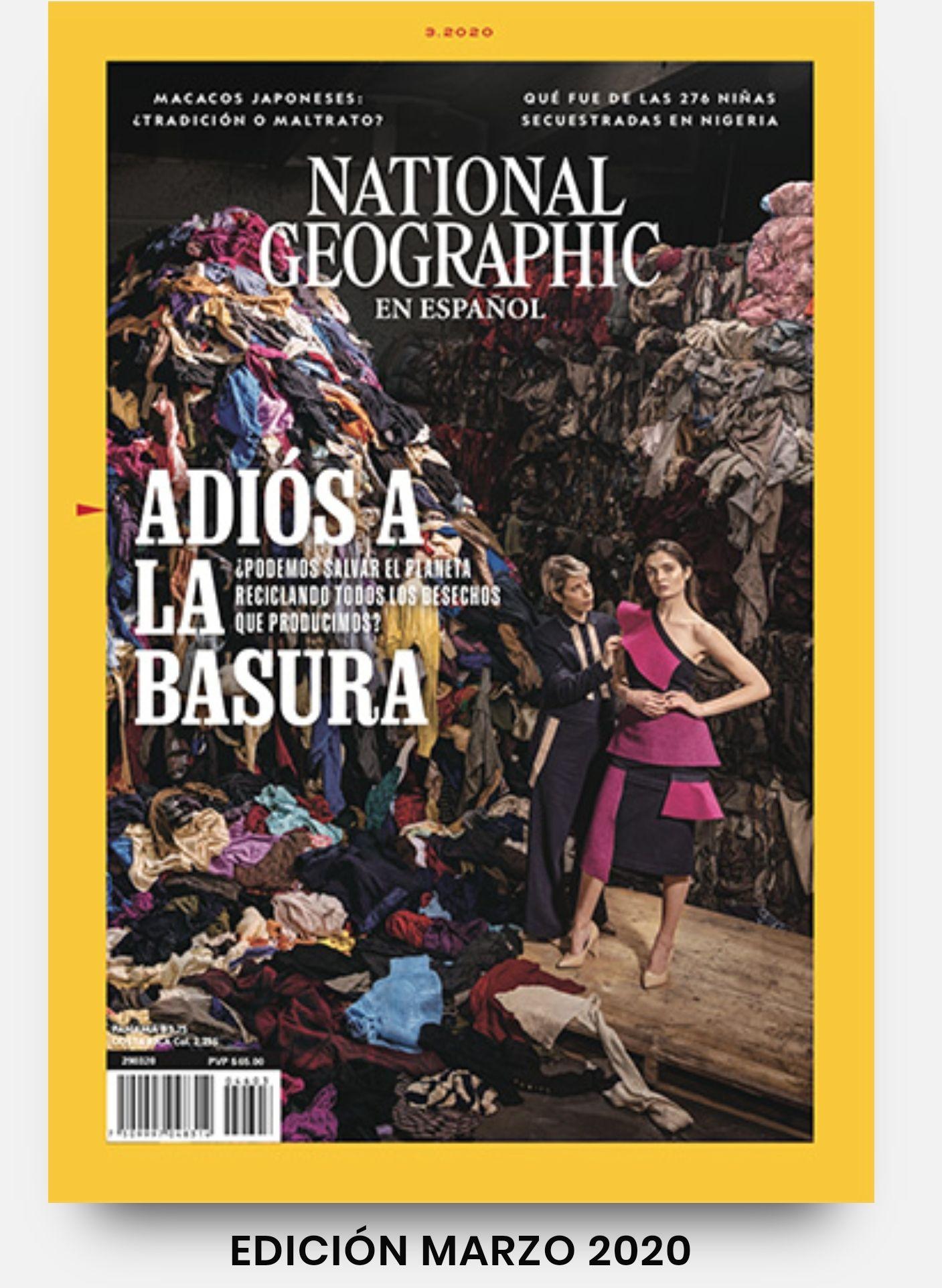 National Geographic gratis mes de marzo.