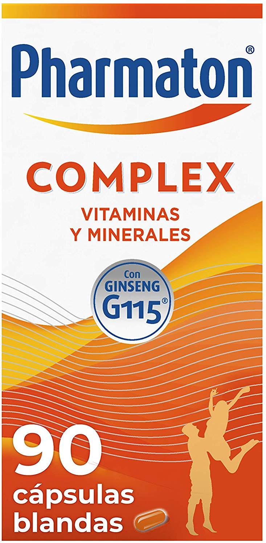 Multivitamínico Pharmaton Complex con Ginseng G115 (90 cápsulas)