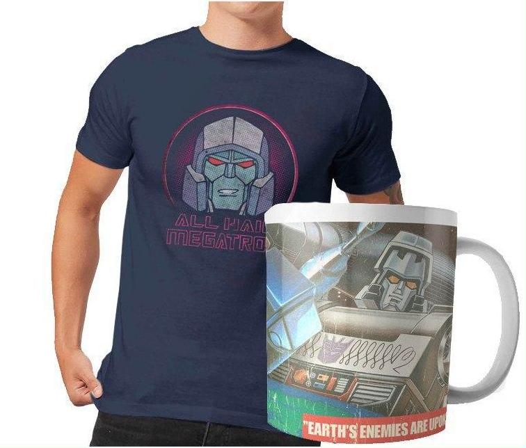 Pack Transformers 9,99€ + envio gratis: Taza y camiseta