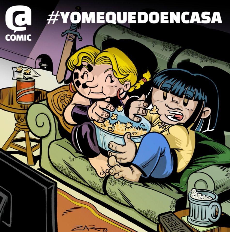 AfterCOMIC REGALA novela de terror para adultos,cómic de Little Renna para los más peques e ilustraciones para que niñ@ puedan colorear.