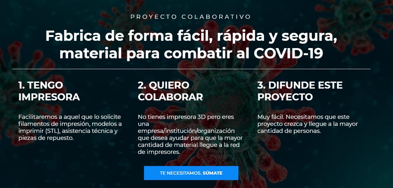Filamento impresión 3D gratis para impresión COVID-19