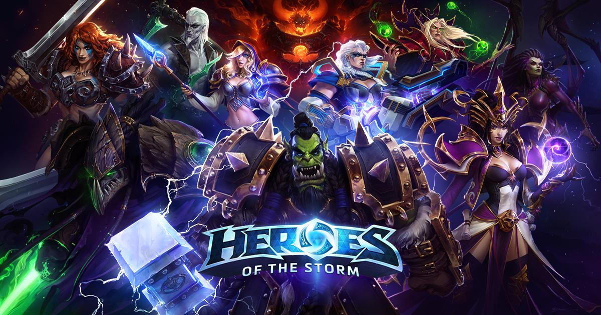 Heores of the Storm, todos los heroes GRATIS, hasta el 2 de abril