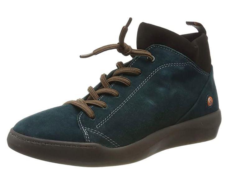 Softinos Biel549sof, Zapatillas Altas para Mujer. Color Verde.