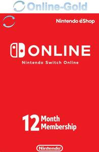 Suscripción de Nintendo Switch Online Key - 12 meses