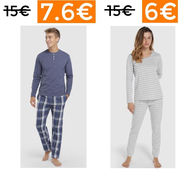 Preciazos en selección pijamas y batas (desde España)