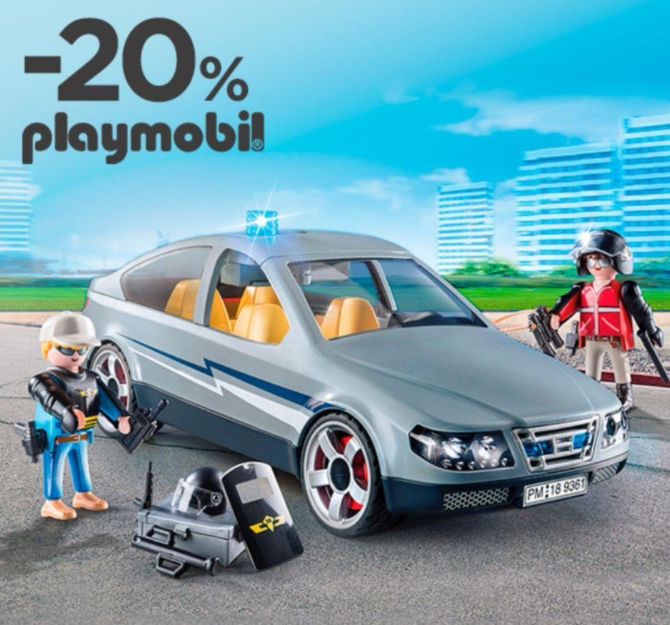 Descuento en todo Playmobil -20%
