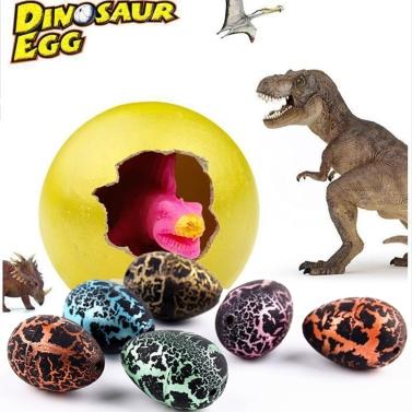 Pack 5 huevos de dinosaurio