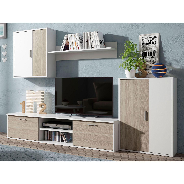 Mueble De Salón 220 Cm