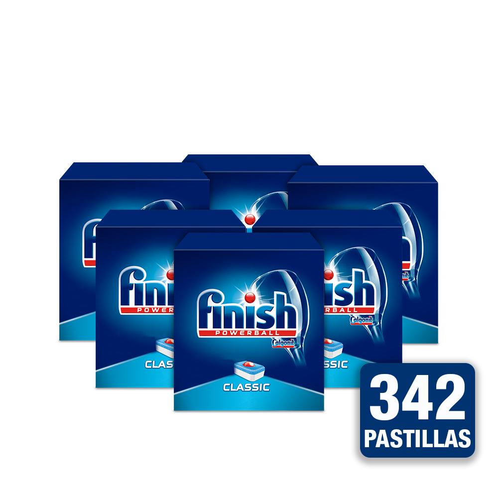 342 Pastillas Calgonit Finish Classic.
