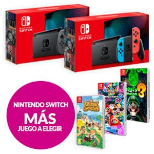 Nintendo switch (Modelo 2019) + juego a elegir