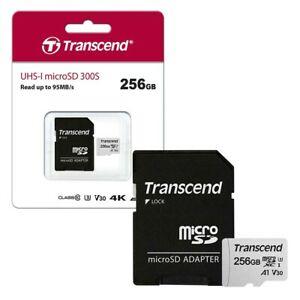 Tarjeta microsd 256GB UHS-U3 V30 A1 Class 10