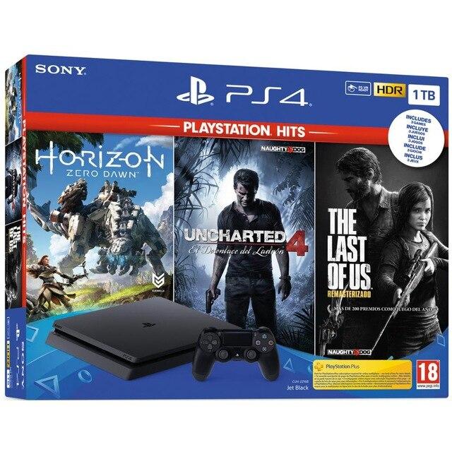 PS4 1TB + Uncharted 4 + Horizon Zero Down + The Last of Us desde ESPAÑA