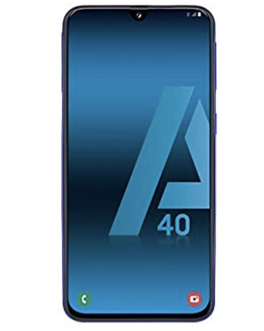 """Samsung Galaxy A40 - Smartphone de 5.9"""" FHD+ sAmoled 4 GB RAM, 64 GB ROM"""