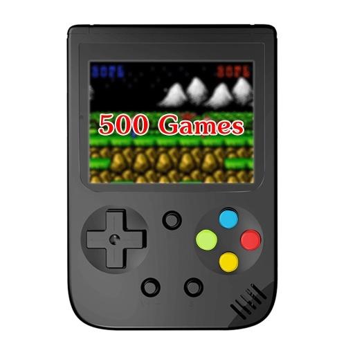 Mini consola portátil con 500 Juegos