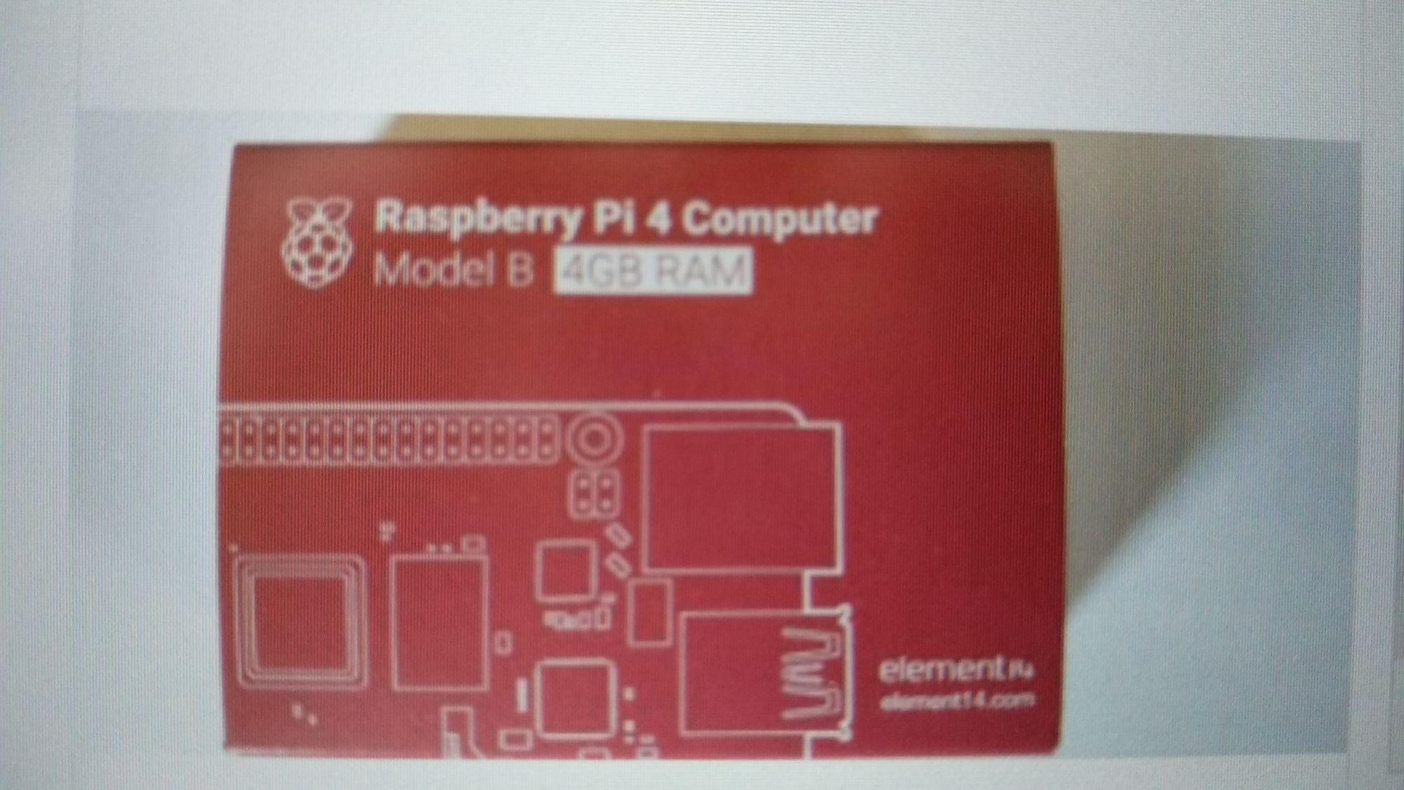 Raspberry Pi 4 de 4gb