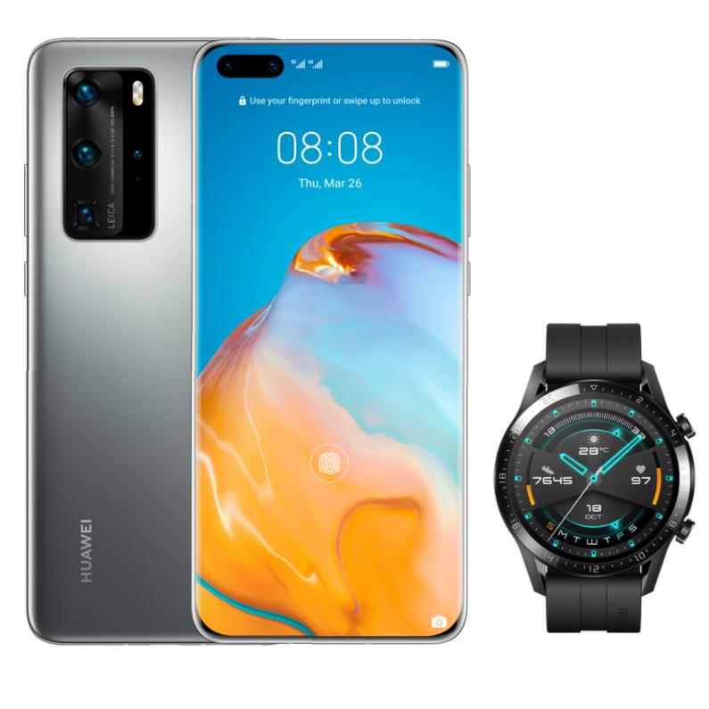 Nuevo Huawei P40 Pro + Huawei GT 2 de regalo