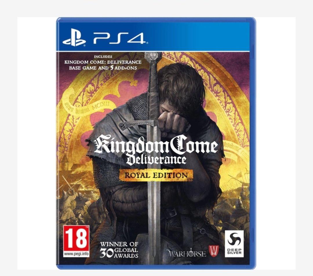 Kingdom Come Deliverance Royal Edition Ps4 (edición completa)
