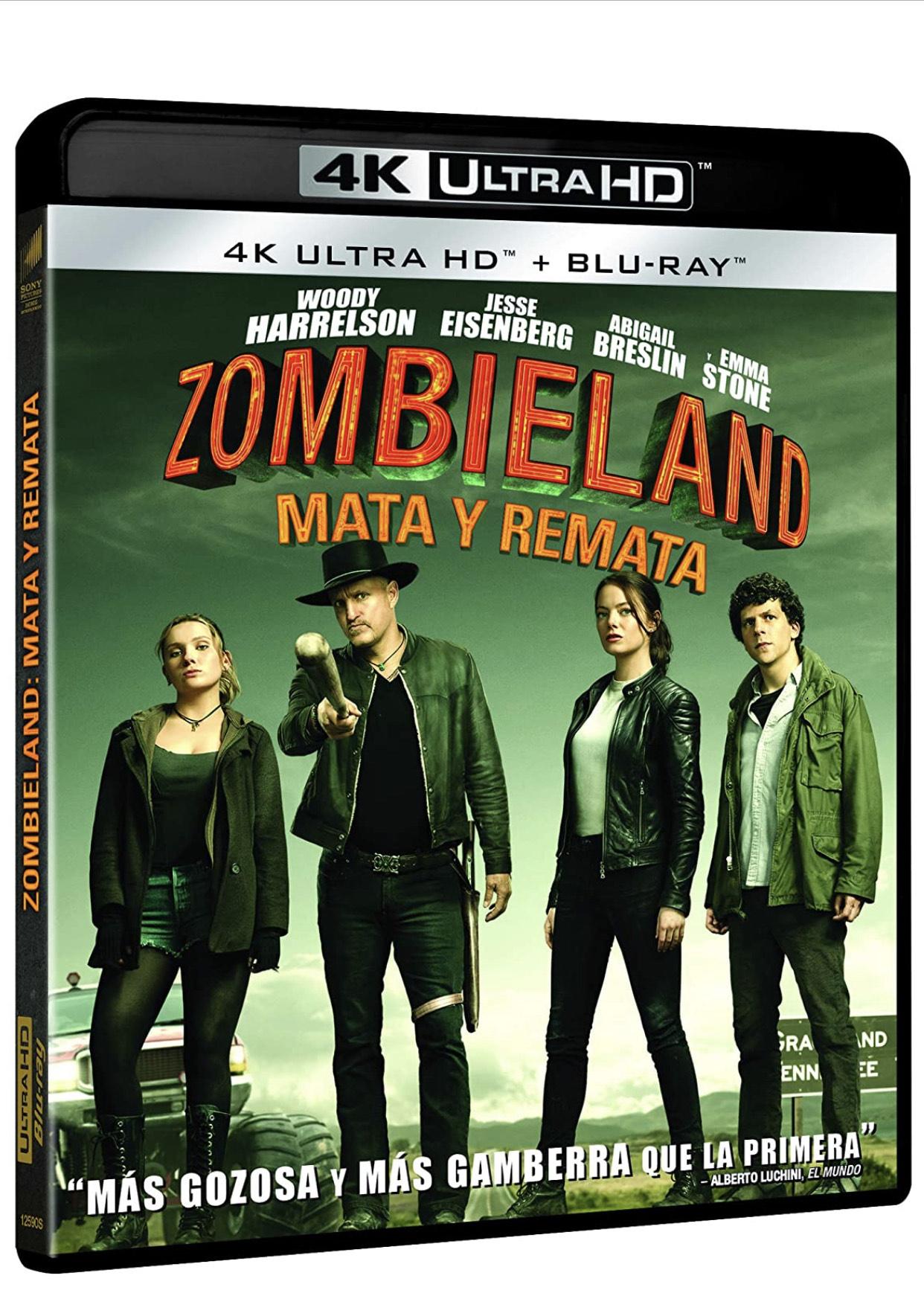 Bienvenidos a Zombieland 2 4K