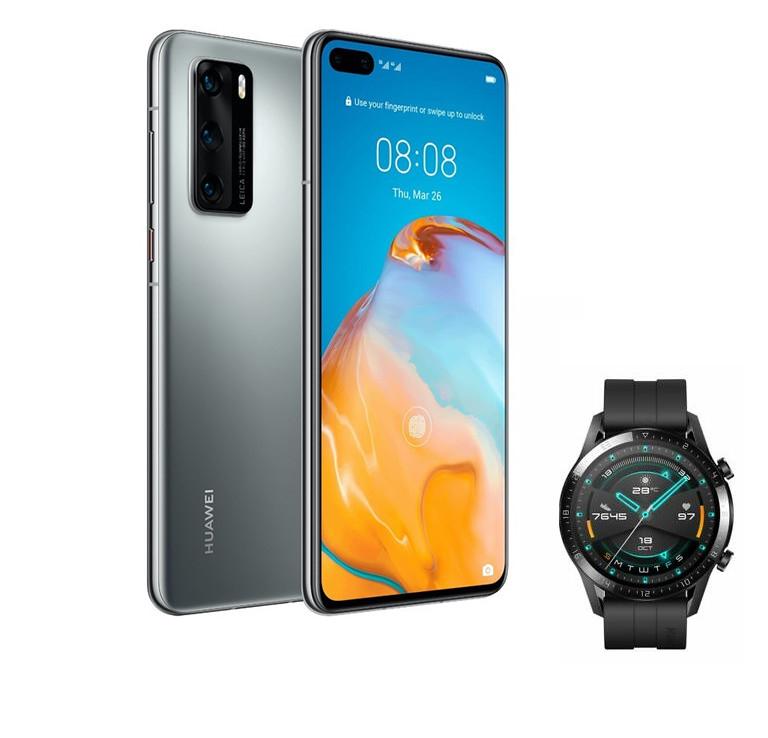 Huawei P40 [8GB + 128GB] + Huawei Watch GT2 [42mm o 46mm]