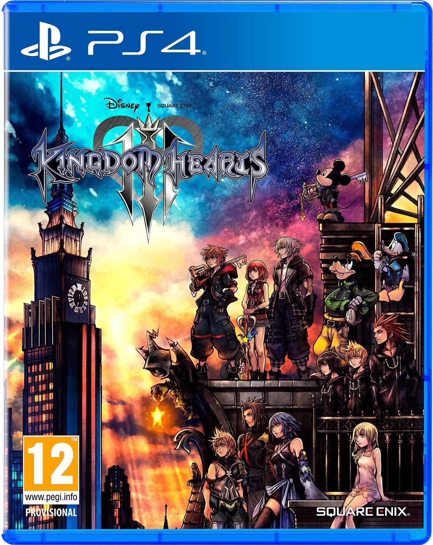 Kingdom Hearts 3 para PS4. Amazon iguala el precio de Game