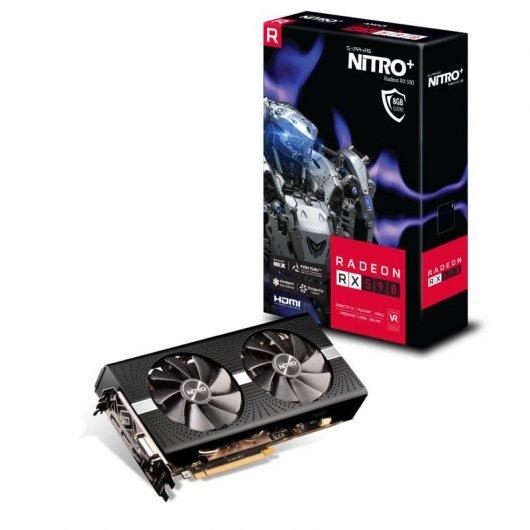 Sapphire Nitro+ Radeon RX 590 8GB GDDR5 UEFI Reacondicionado